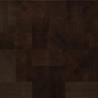 Строение рельефа стеновой панели из массива древесины Квадро