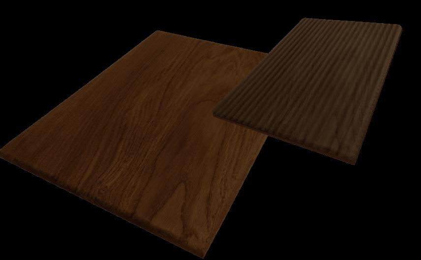 Демонстрация производства элемента стиновой панели из массива древесины Линеа